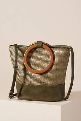 Anthropologie Fiona Colorblocked Tote Bag