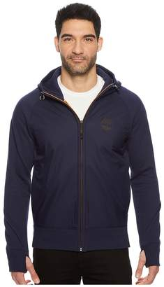 Timberland Weir River Full Zip Mixed Media Hoodie Men's Sweatshirt
