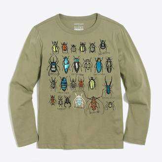 J.Crew Factory Boys' long-sleeve bugs storybook T-shirt