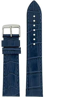 2xist Tech Swiss LEA1870-24 24mm Leather Crocodile Watch Strap