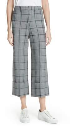 Sea Bacall Cuff Crop Wide Leg Pants