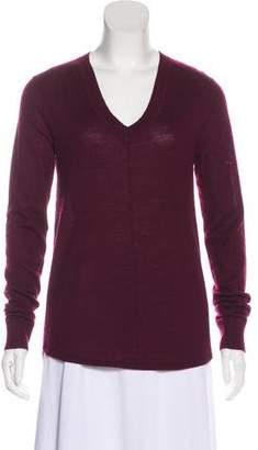 ATM Anthony Thomas Melillo Cashmere Long Sleeve Sweater