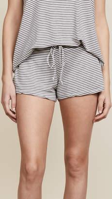 Eberjey Sadie Stripes Drawstring Shorts