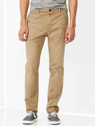 Gap Lived-in tapered khaki