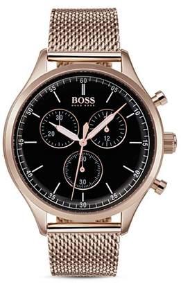 HUGO BOSS BOSS  Companion Watch, 42mm