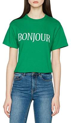 New Look Women's Bonjour T-Shirt,Mediuarge