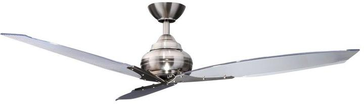 Hampton Bay Florentine IV 56 in. Brushed Nickel Ceiling Fan with Wall Control