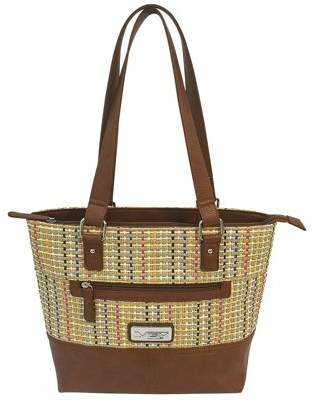 NcStar VISM Concealed Carry Woven Tote Brown