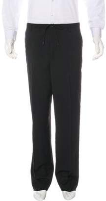 Golden Goose Zip-Accented Wool Dress Pants