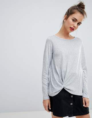 Blend She Malou Tie Front Knit Sweater