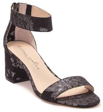 233994c4401 Bettye Muller Tangle Brocade Block Heel Sandal