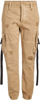 Palm Angels Cotton Cargo Pants