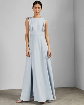 633367d57c0 Ted Baker ARDENIA Waterfall ruffle maxi dress