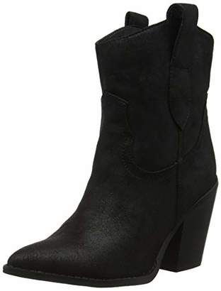 New Look Women's Brady Cowboy Boots,(37 EU)