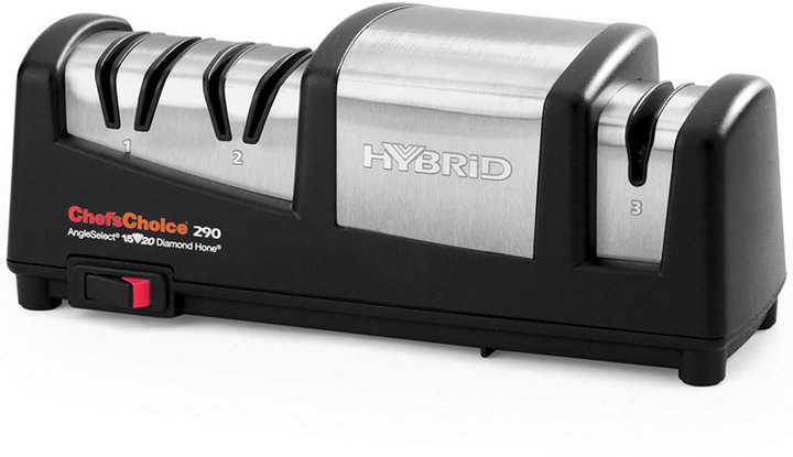 Chef's Choice Electric 290 Hybrid Diamond Hone AngleSelect Knife Sharpener
