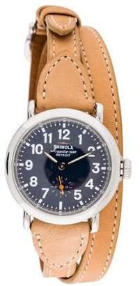 Shinola Runwell Triple Wrap Watch