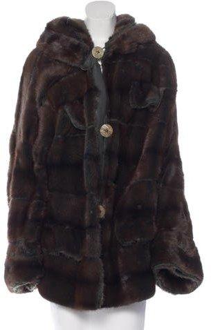 Fendi Reversible Mink Coat