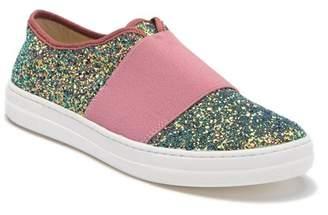 Naturino 4584 Glitter Strap Slip-On Sneaker (Toddler, Little Kid, & Big Kid)