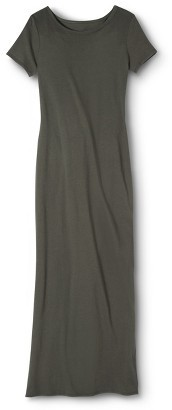 Merona Women's Knit Maxi Dress - Moss