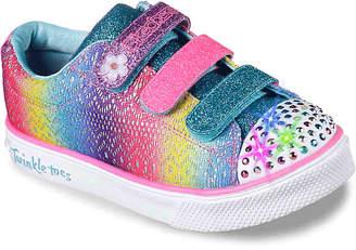 Skechers Twinkle Toes Twinkle Breeze 2.0 Sunshine Crochets Toddler & Youth - Girl's