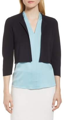 BOSS Fatildi Short Open Cardigan