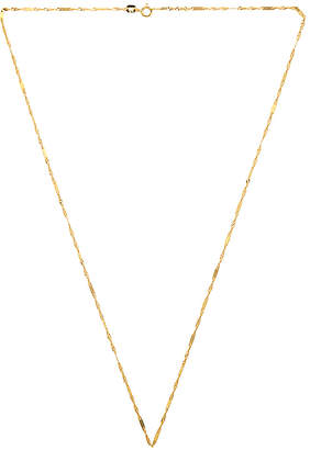 Sachi Twisted Singapore Chain Necklace