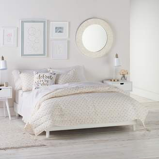 Lauren Conrad Emma Metallic Dot Quilt Set