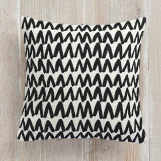 Rows Self-Launch Square Pillows