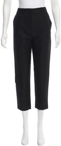 Alexander Wang T by Alexander Wang Cropped Straight-Leg Pants w/ Tags