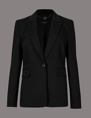 Marks and Spencer Smart Single Breasted Blazer