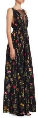 No.21 NO. 21 Floral Maxi Dress