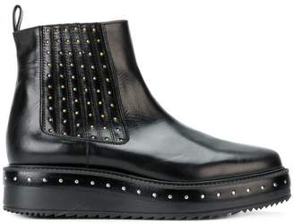 Albano studded platform Chelsea boots