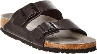 Birkenstock Women's Arizona Washed Metallic Narrow Leather Sandal