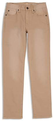 7 For All Mankind Boys' Stretch Twill Slim-Fit Pants in Khaki - Little Kid
