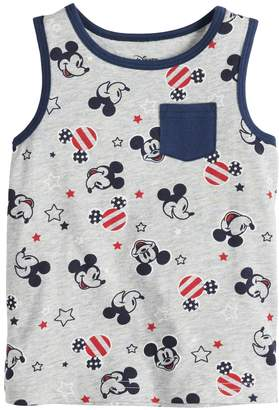 Disneyjumping Beans Disney's Mickey Mouse Baby Boy American Flag Graphic Tank Top by Jumping Beans