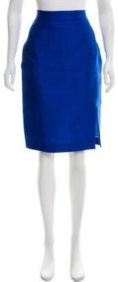 Aquilano Rimondi Aquilano.Rimondi Silk-Blend Knee-Length Skirt