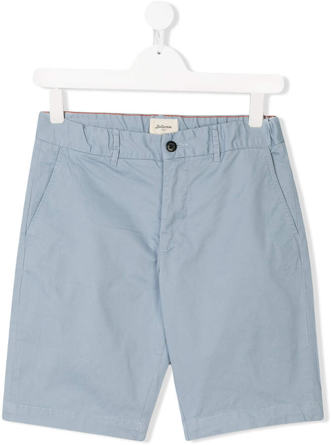 Bellerose Kids TEEN classic chino shorts