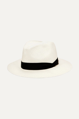 Rag & Bone Straw Panama Hat - White