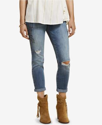Jessica Simpson Maternity Medium Wash Skinny Ankle Jeans