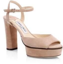 Jimmy Choo Peachy Sue Platform Sandals