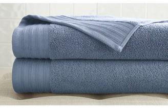 Pacific Coast Textiles Spa Collection Zero Twist Cotton 2 Pack Bath Sheet