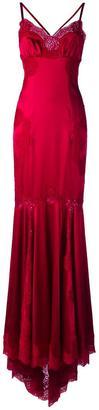 Dolce & Gabbana lace trim gown $6,995 thestylecure.com