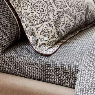 Amaya Bedeck 1951 - Grey Cotton And Polyester 'Amaya' Fitted Sheet