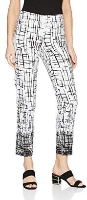 SLIM-SATION Women's Pull-on Print Ankle Pant