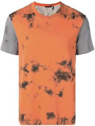 Helmut Lang contrast panels T-shirt