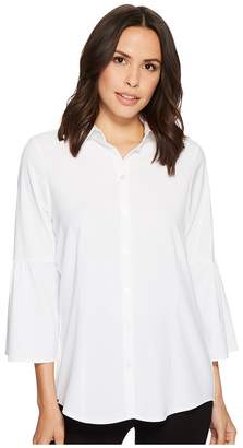 Lisette L Montreal Bell Sleeve Blouse Women's Long Sleeve Button Up