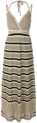 M Missoni Fantasia halter maxi dress