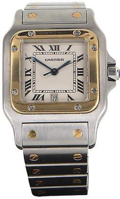 One Kings Lane Vintage Cartier Santos Galbee 29mm Watch - Precious & Rare Pieces