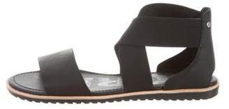 Sorel Leather Flat Sandals w/ Tags