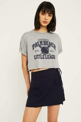 Urban Renewal Vintage Customised Rainbow Crop T-Shirt